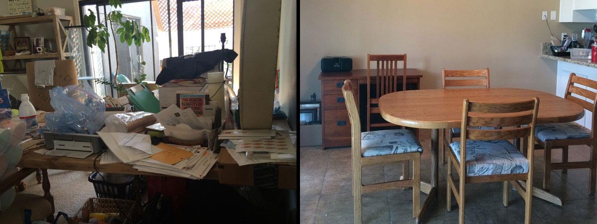 Organizing Dinning Rooms